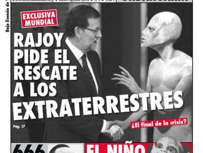 Portada del primer numero de la revista 'Noticias del Mundo', de julio de 2013.