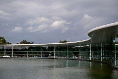 Una parte del McLaren Technology Centre