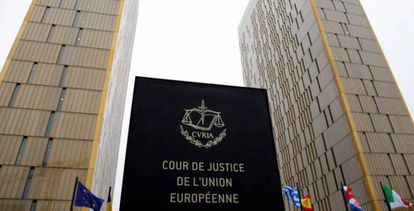 La sede del Tribunal de Justicia de la Unión Europea, en Luxemburgo.