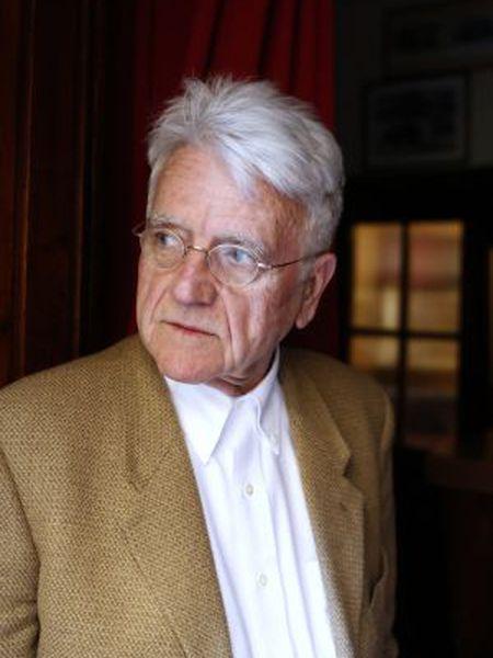 Manuel Arroyo, fundador de la editorial Turner y autor de 'Pisando ceniza', a principios de marzo de 2015, en Madrid.