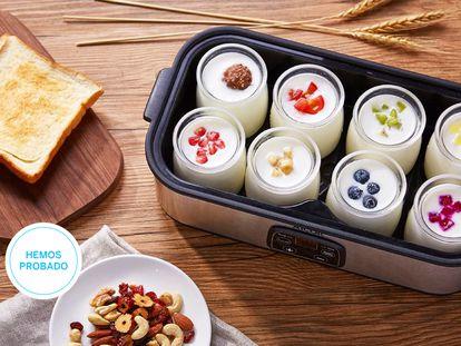 Ponemos a prueba las mejores yogurteras del mercado para elaborar yogur en casa.