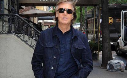 El cantante Paul McCartney en Nueva York en agosto de 2017.