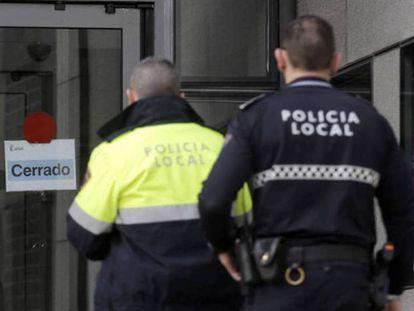 Policía Local de Mallorca.