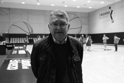 Miki Vukovic, exentrenador del Valencia Basket, en L'Alquería