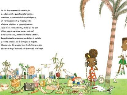 Página de 'Ada Magnífica'.