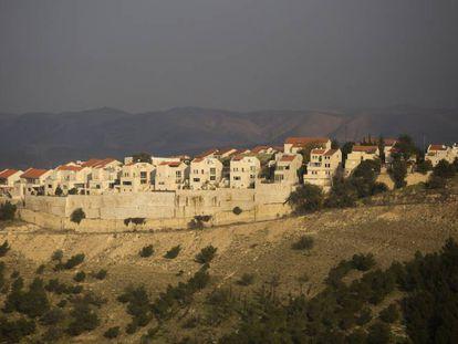 Parte de un asentamiento israelí en Maale Adumim, este martes en Cisjordania.