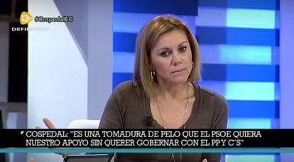Entrevista en 13TV.