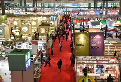 Vista de la Feria del Libro de Fráncfort 2020.