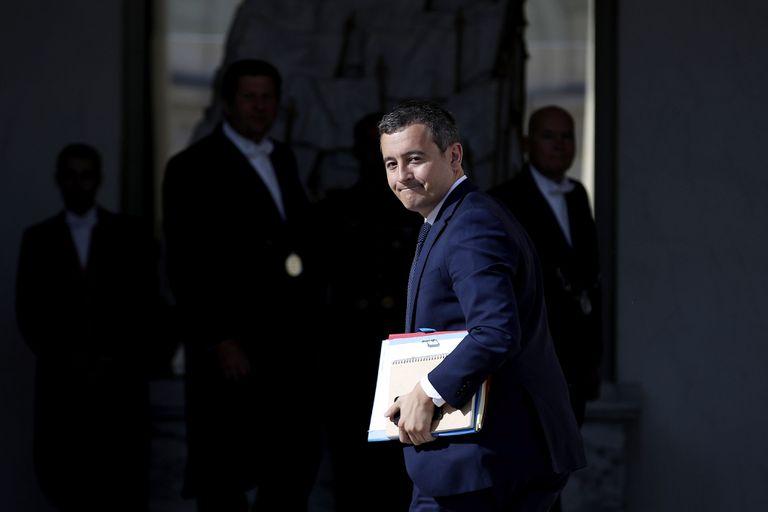 El nuevo ministro de Interior francés, Gérald Darmanin, en una imagen de 2019.