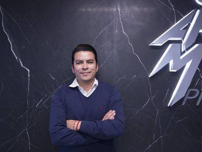 Ortiz, en las instalaciones de la Asociación en Toluca.