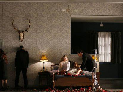 Escena final de 'Pelléas et Mélisande'.