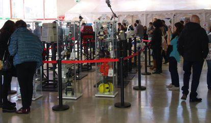 Asistentes a la última Feria del Empleo en la Era Digital (FEED).