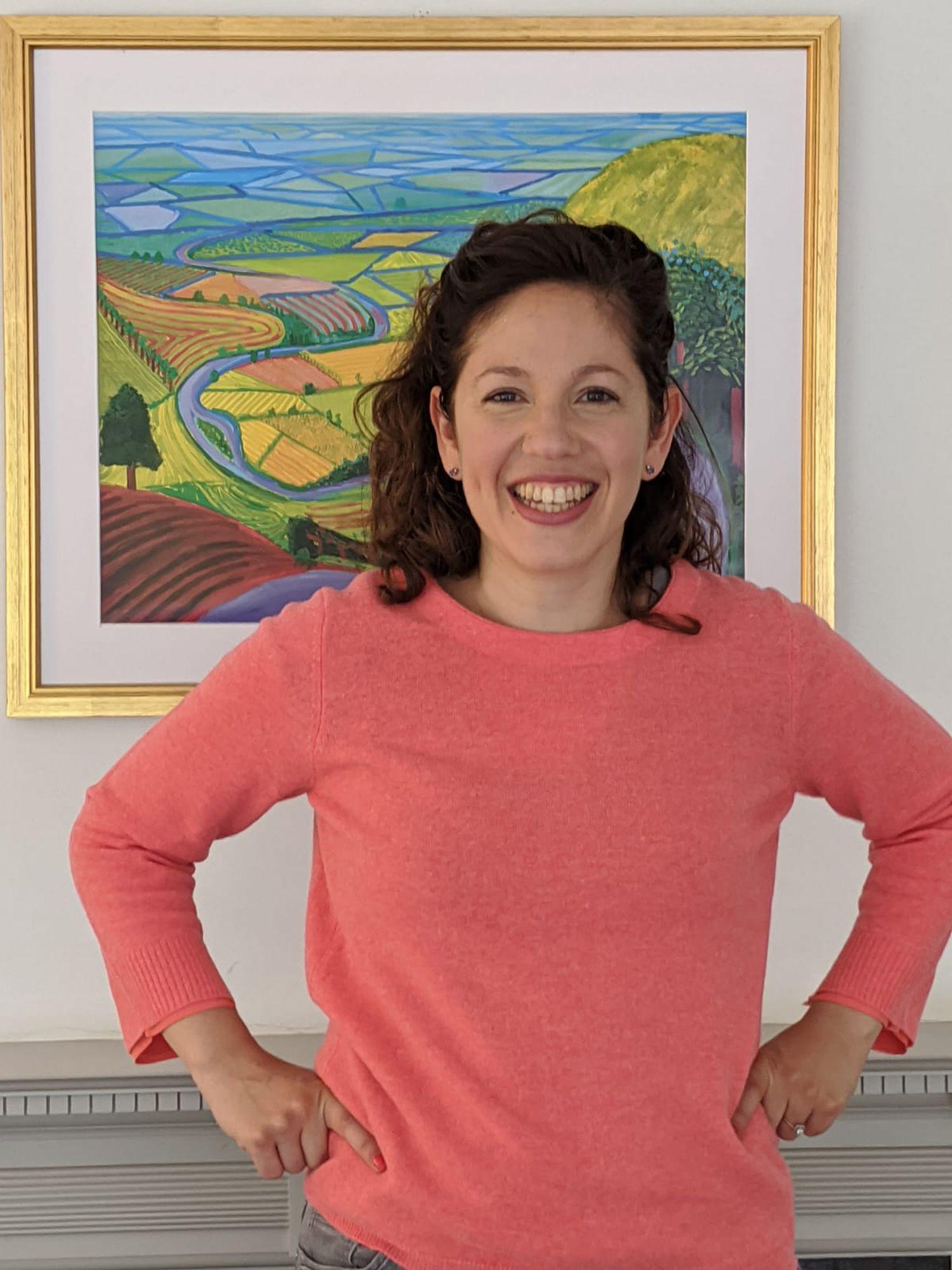 Kate Farrahi, miembro de la Facultad de Ciencias de la Computación de la Universidad de Southampton.