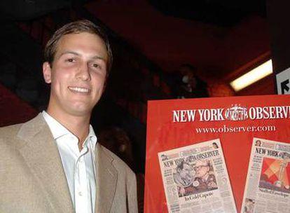 Jared Kushner, propietario del <i>New York Observer.</i>