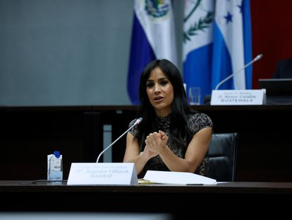 Begoña Villacís, el martes 18 de mayo.