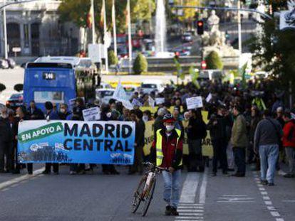 Este viernes entra en vigor Madrid Central, un área restringida a residentes y transporte público en el centro de la capital