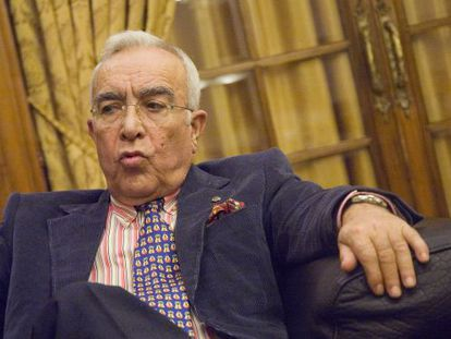 Francisco Cacharro, expresidente de la Diputación de Lugo.
