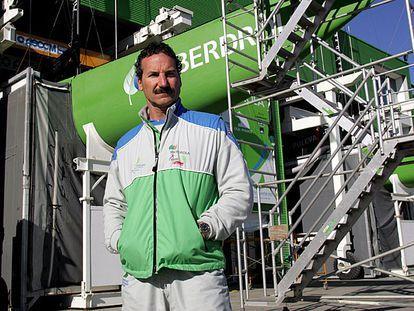 Paul Cayard, durante una visita en Valencia, en 2005.
