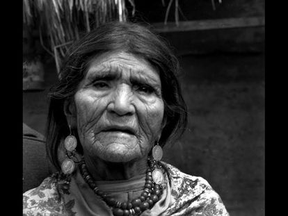 Dolores Cacuango, 1969.