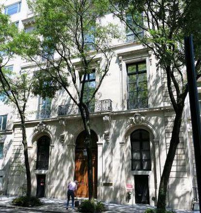 La mansión de Jeffrey Epstein en el Upper East Side de Nueva York.