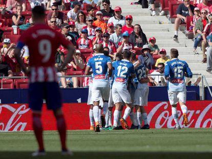 Torres, tras la derrota ante el Espanyol.