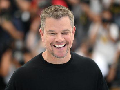 Matt Damon, en la presentación ante la prensa de 'Cuestión de sangre'.