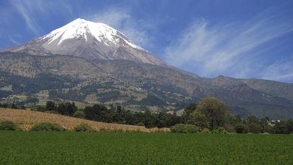 El pico de Orizaba (Citlaltépetl), la montaña más alta de México.