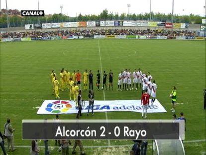 Alcorcón 2 - Rayo 0