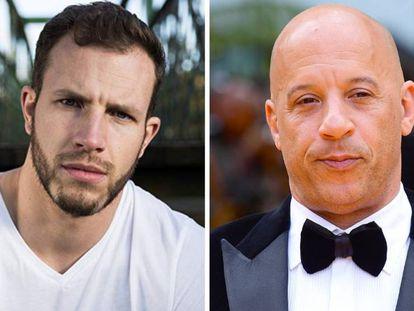 A la izquierda, Joe Watts; a la derecha, Vin Diesel.