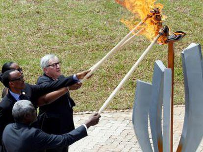 Ruanda conmemora los 25 años del genocidio en un acto al que no ha asistido el presidente de Francia