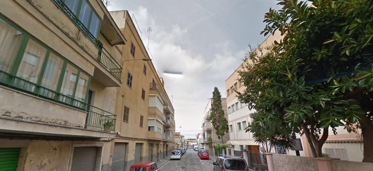 Calle Sant Joan Baptista de la Salle de la localidad mallorquina de Manacor.