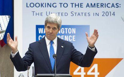 El secretario de Estado, John Kerry.
