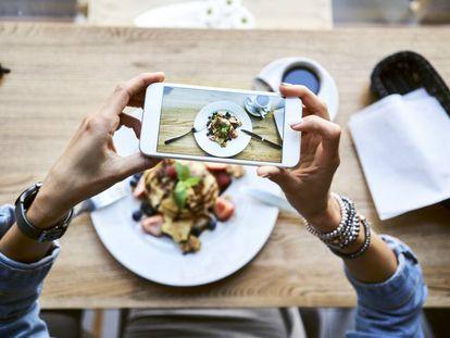 Los hábitos de alimentación se contagian entre los usuarios de las redes sociales