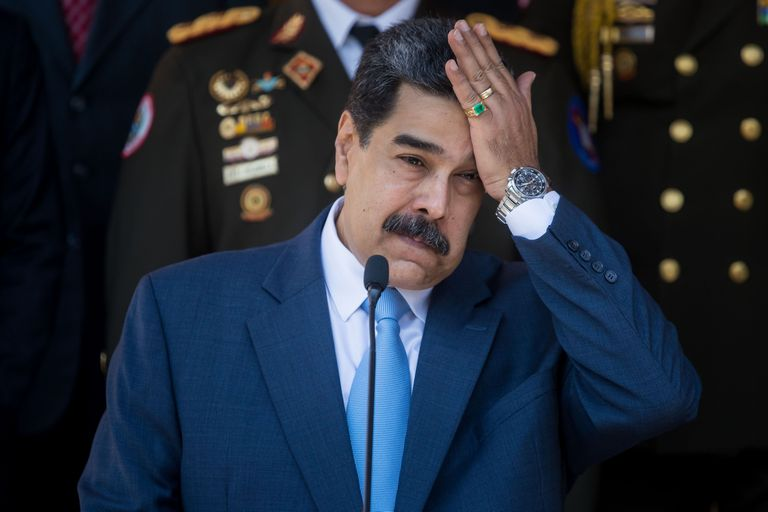 Nicolás Maduro, durante una comparecencia en Caracas.