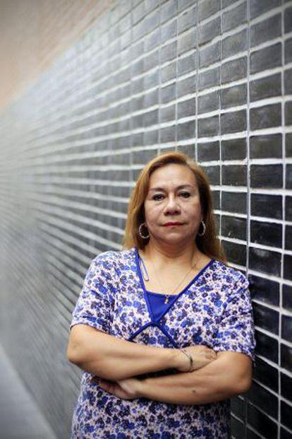 La presidenta de Madrid Latino, Yolanda Villavicencio.