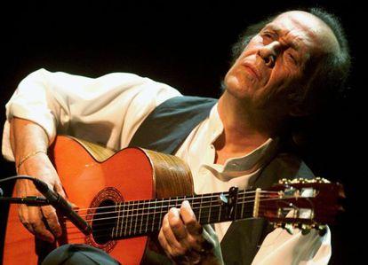 Paco de Lucía en el Festival de Jazz de Montreux en 2001.