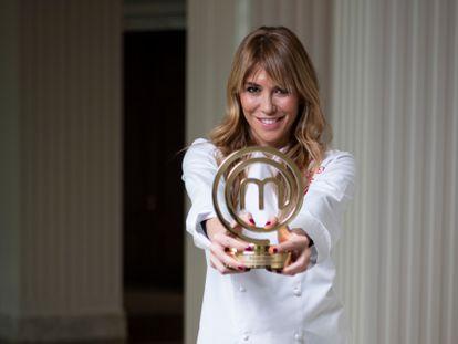 Raquel Meroño, ganadora de 'MasterChef Celebrity' 2020.
