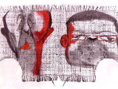 Alfredo Pérez Rubalcaba y Ximo Puig, según Sciammarella