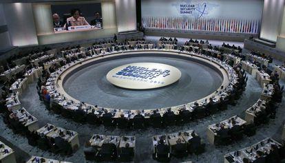 Escenario de la cumbre en Washington.