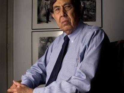 Cuauhtémoc Cárdenas, en su casa en México en 2007.