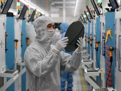 Trabajador de la empresa china GalaxyCore.
