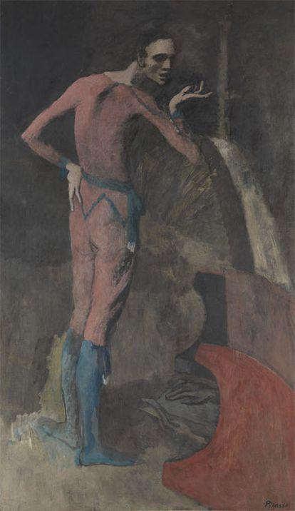 Imagen de 'El actor', de Pablo Picasso