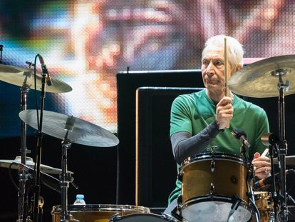 Rock in Rio Lisboa held at Parque da Bela Vista - Day 2 - Performances  Featuring: The Rolling Stones, Charlie Watts Where: Lisbon, Portugal When: 29 May 2014 Credit: Rui M Leal/WENN.com