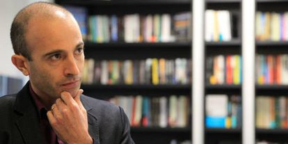 Yuval Noah Harari, el pasado octubre en Madrid.