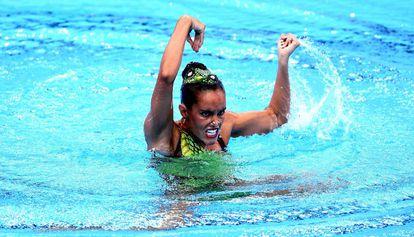 Ona Carbonell en un momento de la final de solo técnico.
