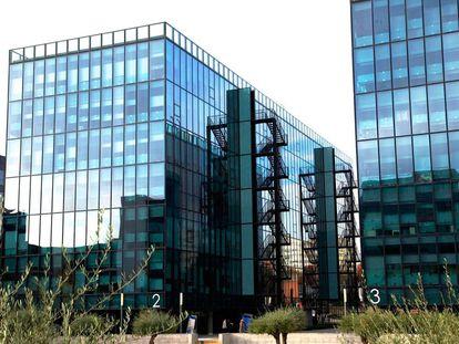 Edificios del Parque Empresarial Cristalia propiedad de Axiare.
