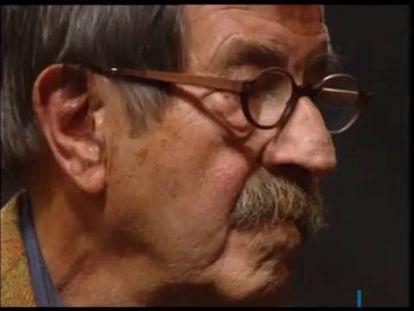 """Günter Grass: """"El dolor es la principal causa que me hace trabajar y crear"""""""