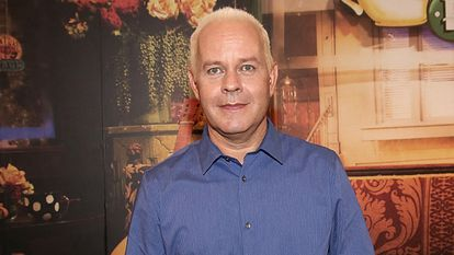 """(FILES) In this file photo actor James Michael Tyler attends the Central Perk Pop-Up Celebrating The 20th Anniversary Of """"Friends"""" on September 16, 2014 in New York City. - Actor James Michael Tyler who played coffee shop manager Gunther on the hit sitcom """"Friends"""" died October 24, 2021 at age 59, US media reported. (Photo by Paul ZIMMERMAN / GETTY IMAGES NORTH AMERICA / AFP)"""