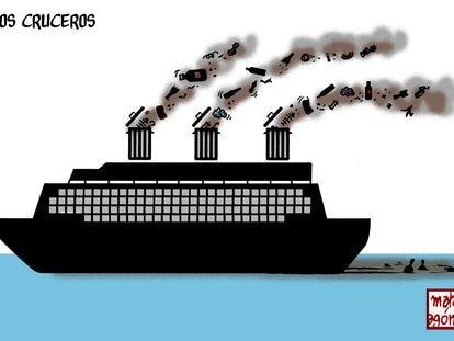 Turismo contaminante, por Malagón