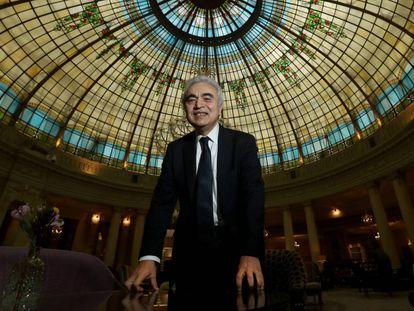 Fatih Birol, director de la Agencia Internacional de la Energía, el viernes pasado en un hotel de Madrid.